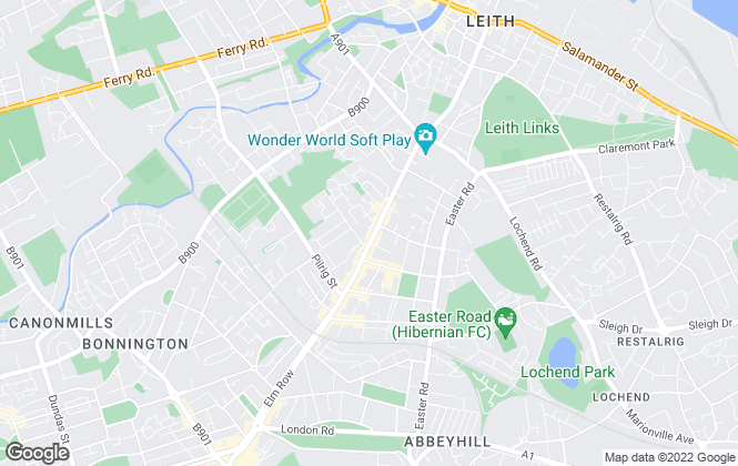 Map for MOV8 Real Estate, Leith