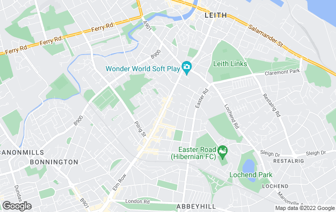 Map for Rent Locally, Edinburgh