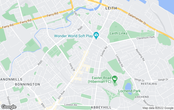 Map for Rent Locally, Edinburgh