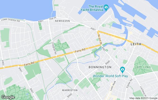 Map for Smart Property, Edinburgh- lettings