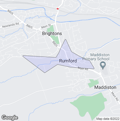 Map of property in Rumford