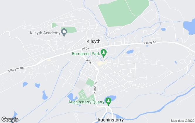 Map for Penworth Properties, Glasgow
