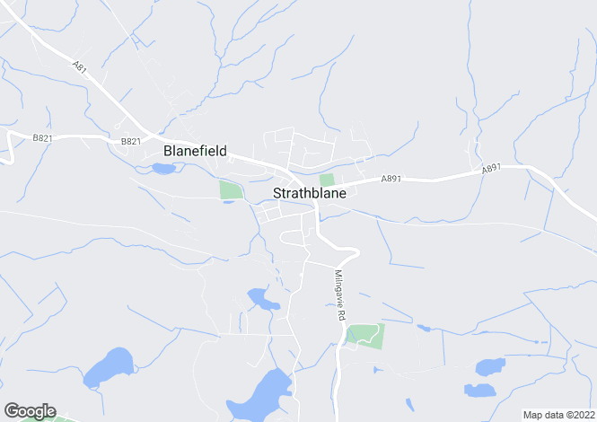 Map for 10 Dumbrock Road, Strathblane, G63 9EF