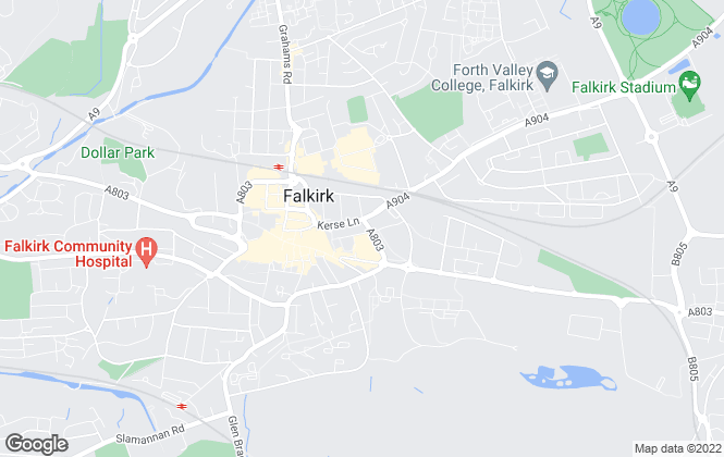 Map for Campbell & Dean Ltd, Falkirk