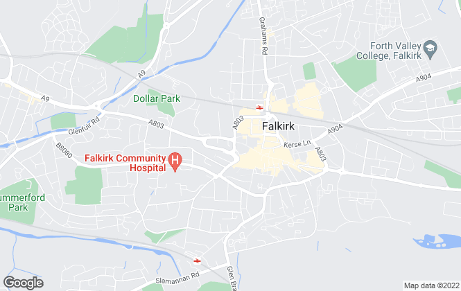 Map for Property Unlimited , Falkirk