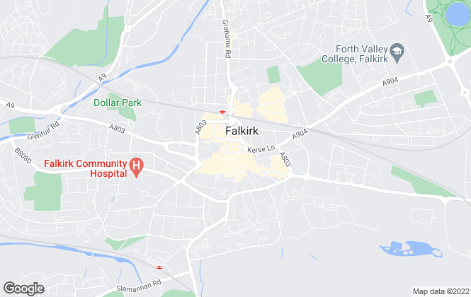 Map for Your Move , Falkirk