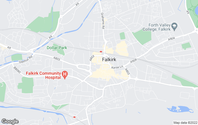 Map for Clyde Property, Falkirk
