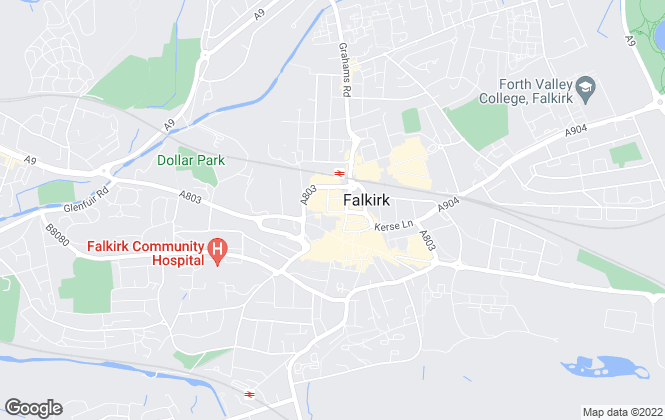 Map for Remax Complete, Falkirk