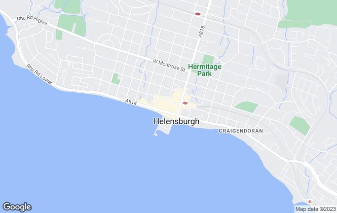 Map for Allen & Harris, Helensburgh