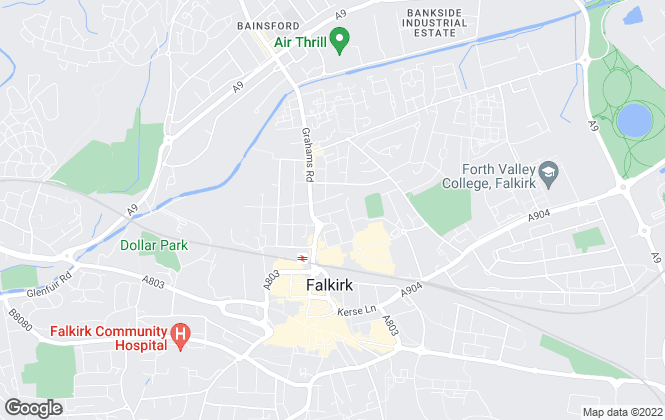 Map for Falkirk Homes Estate Agency Ltd., Falkirk