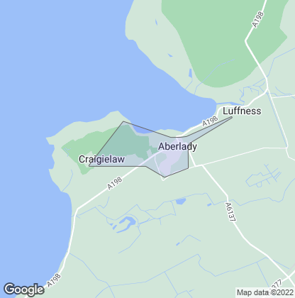 Map of property in Aberlady
