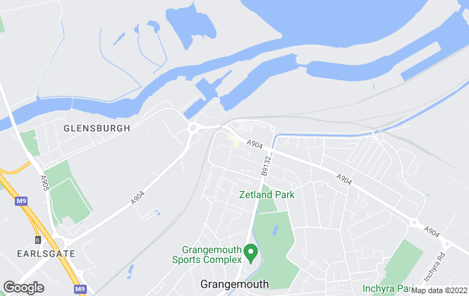 Map for RGM Solicitors & Estate Agents, Grangemouth