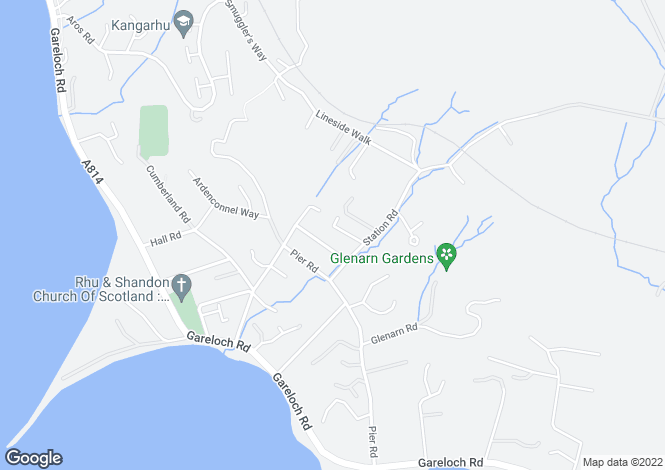 Map for Glebefield Road, Rhu, G84 8SZ
