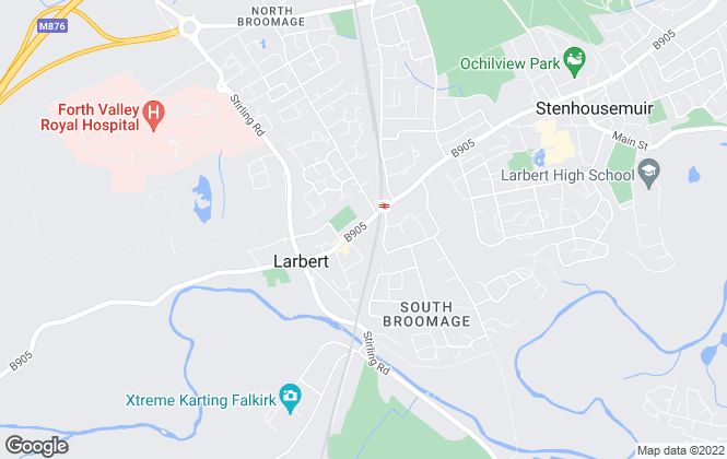 Map for Taylor William Estate Agents, Larbert