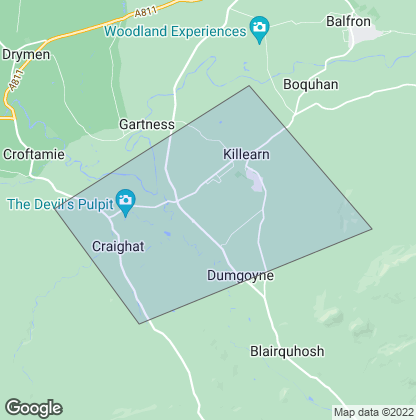 Map of property in Killearn