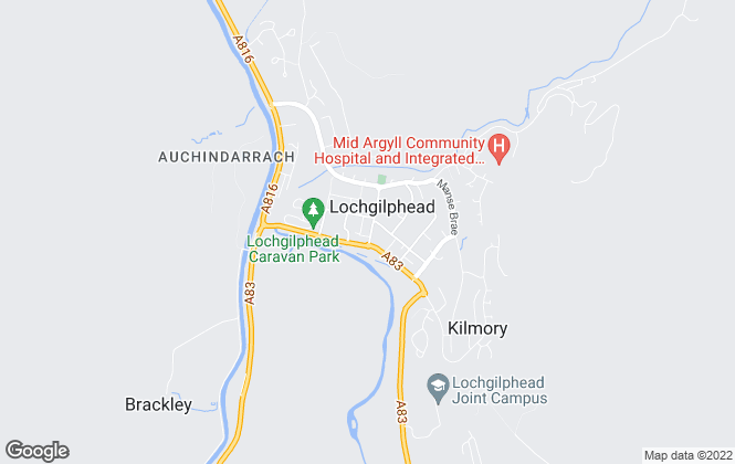 Map for Argyll 4 Sale Ltd, Argyll