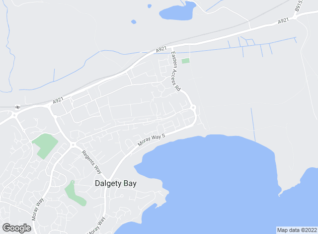 Map for Regents Estates & Mortgages, Dalgety Bay
