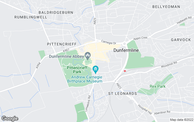 Map for McCrae & McCrae, Dunfermline