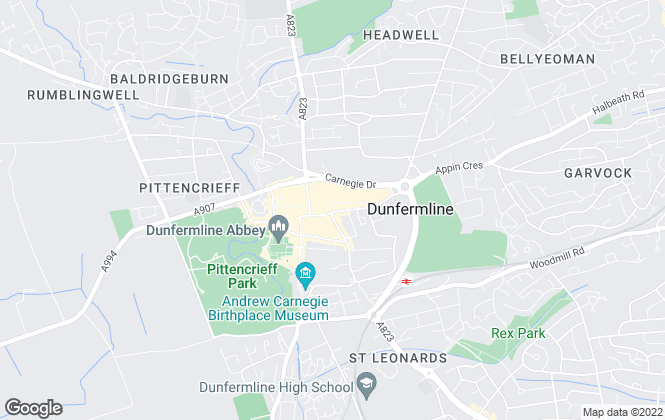 Map for Maloco & Associates, Dunfermline