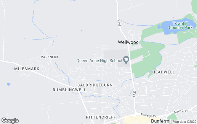 Map for Bellway Homes Ltd (Scotland East)