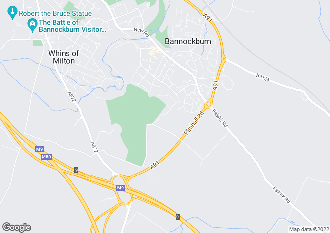 Map for Drewamgar Muiralehouse Road, Bannockburn, Stirling, Stirling, FK78AB