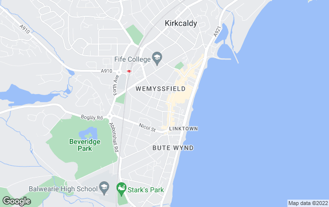 Map for Delmor Estate Agents & Mortgage Broker , Kirkcaldy