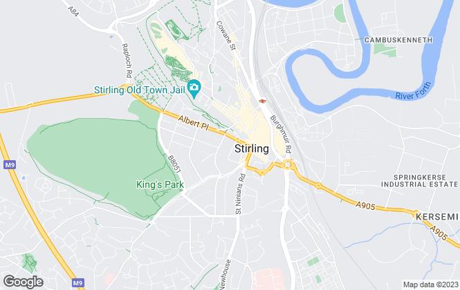 Map for Aberdein Considine Muirhead Buchanan, Stirling