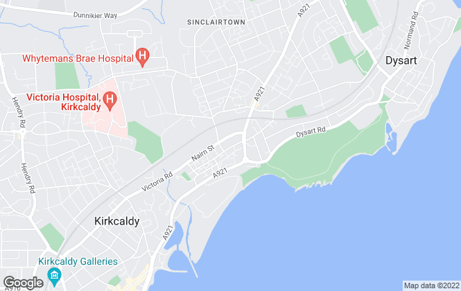 Map for Fife Letting Service, Kirkcaldy