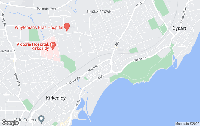 Map for SJM Mortgage & Estate Agents, Kirkcaldy