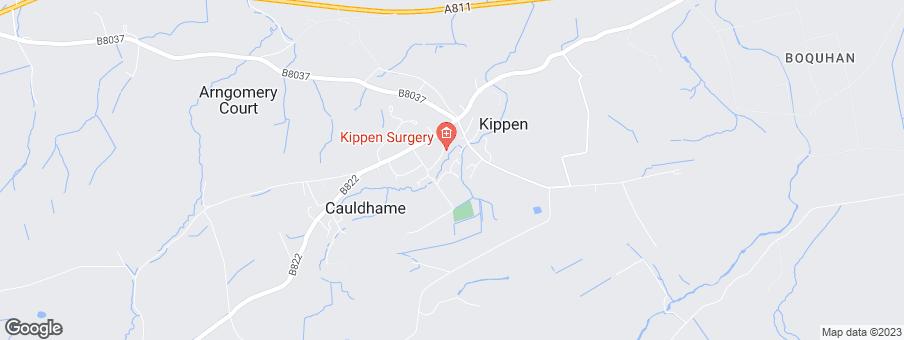 Map for Dawn Homes Ltd