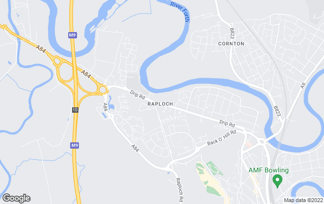 Map for FORTH RESIDENTIAL, Stirling