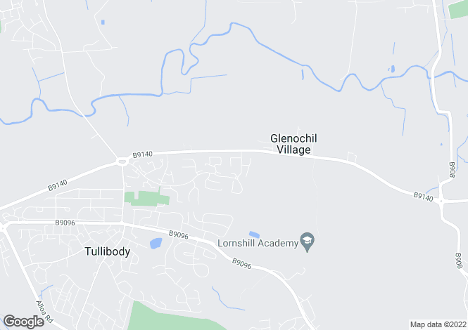 Map for Glentye Drive,
