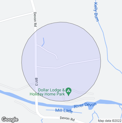 Map of property in Dollarfield