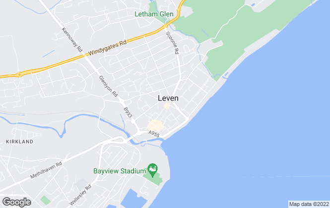 Map for YOUR MOVE Stewart Filshill Lettings , Leven