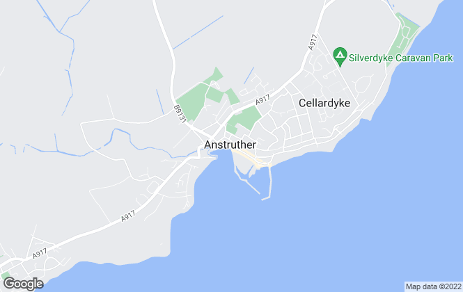 Map for Pagan Osborne, Anstruther