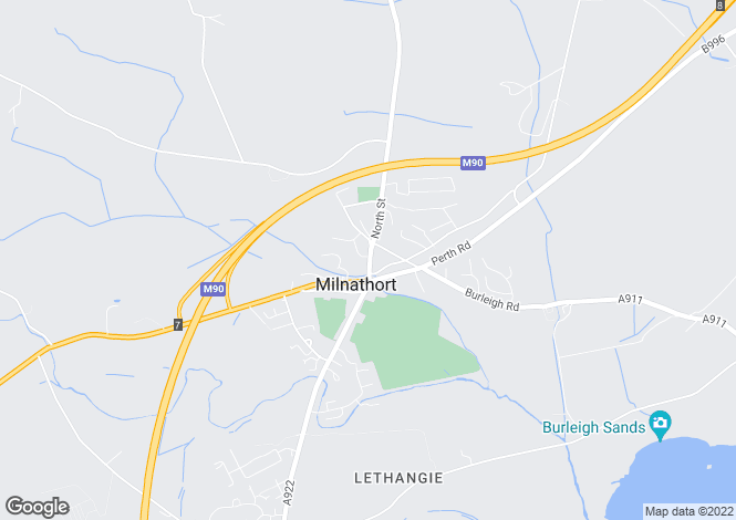 Map for Westerloan, Kinross