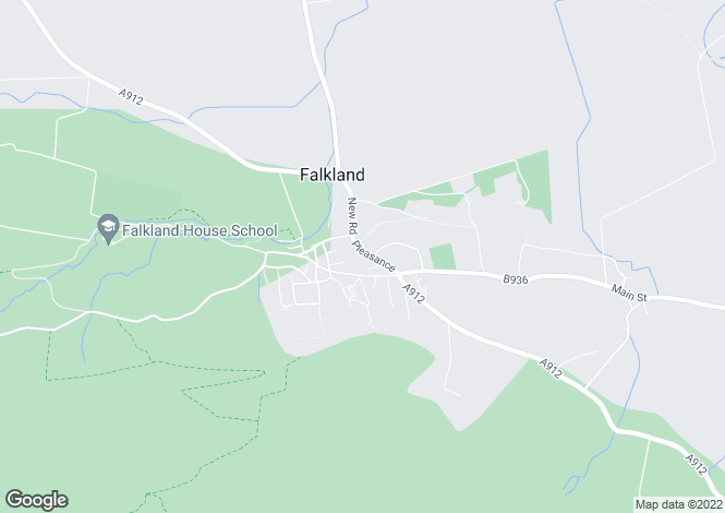 Map for Lushof Huisie, Pleasance, Falkland, Fife