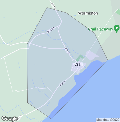 Map of property in Crail