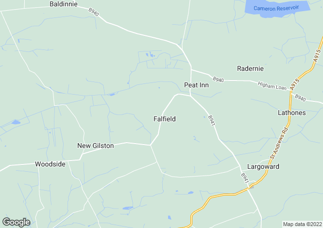 Map for Falfield Steading, By Peat Inn, Cupar, Fife, KY15