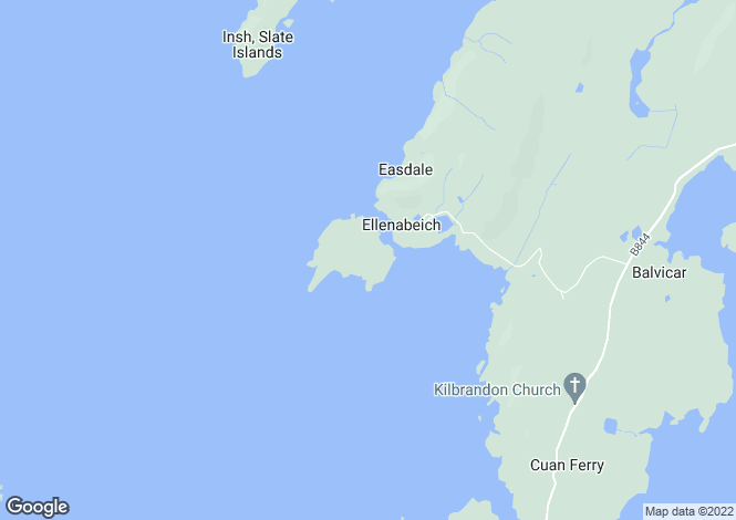 Map for 56 Easdale Island,