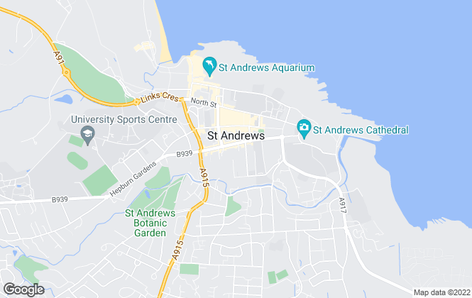 Map for Pagan Osborne, St. Andrews