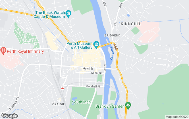 Map for Aberdein Considine, Perth