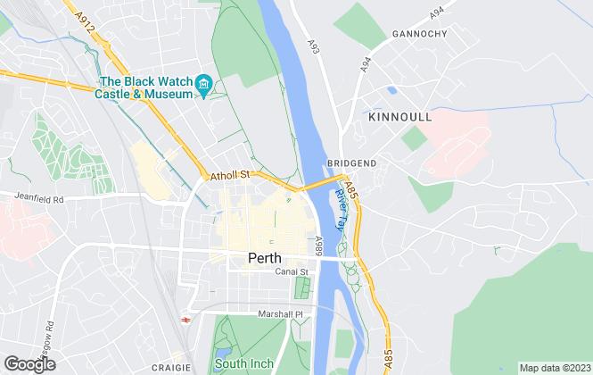 Map for Jameson & MacKay, Perth