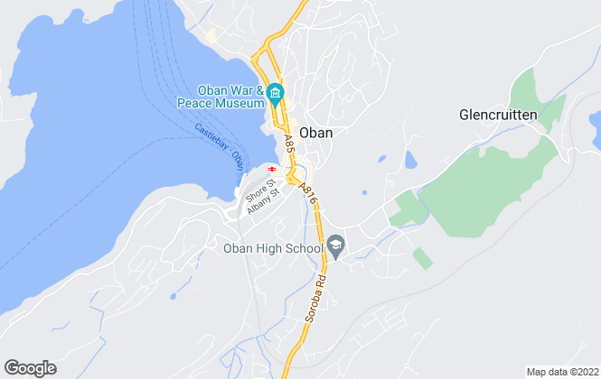 Map for Bell Ingram, Oban