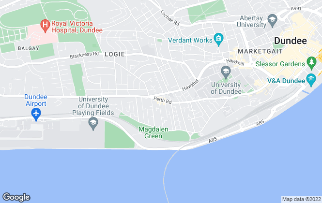 Map for Simple Approach Estate Agents, Dundee