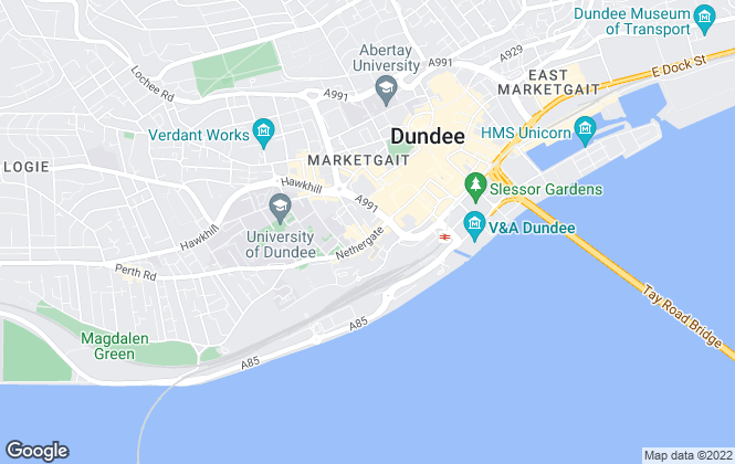 Map for 1st Avenue Estate Agents, Dundee