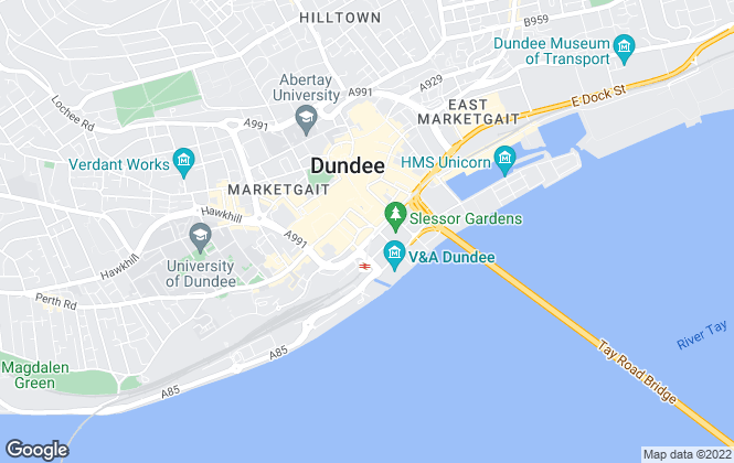Map for Your Move , Dundee