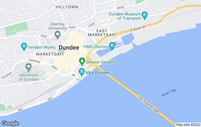 Map for Remax Real Estate Centre Dundee, Dundee