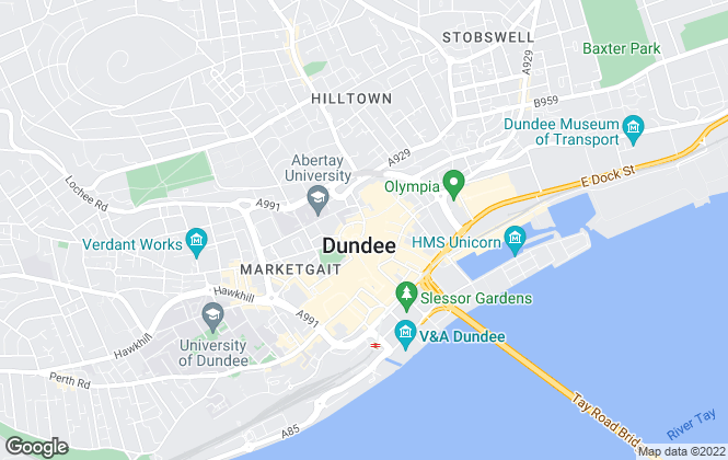 Map for Martin & Co, Dundee