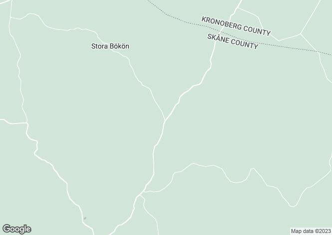 Map for Skåne, Lönsboda